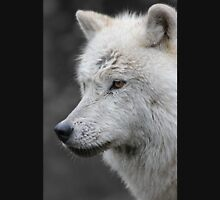 Side Portrait of an Arctic Wolf Unisex T-Shirt