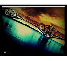 Forth Rail Bridge Photographic Print
