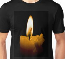 Candle in the darkness Unisex T-Shirt