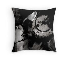 The Midnight Hour Throw Pillow