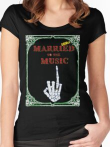SHINee - Married To The Music Women's Fitted Scoop T-Shirt