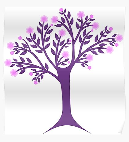 Blossoms tree Poster