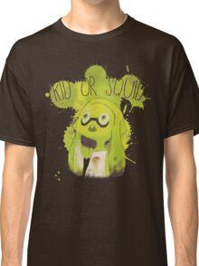 Splatoon Inspired: Squid or Kid Classic T-Shirt