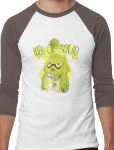 Splatoon Inspired: Squid or Kid Men's Baseball ¾ T-Shirt