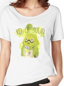 Splatoon Inspired: Squid or Kid Women's Relaxed Fit T-Shirt