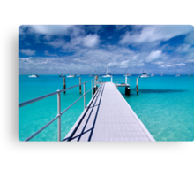 """""""View from the Jetty"""" - Direction Island Canvas Print"""