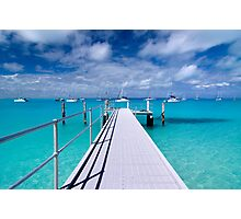 """""""View from the Jetty"""" - Direction Island Photographic Print"""