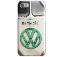 VW Bus - Namaste iPhone Case/Skin