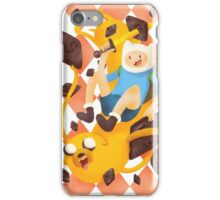 Adventure Time with salty liquorice iPhone Case/Skin