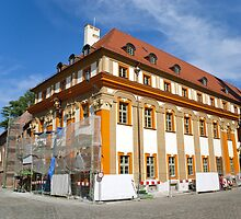 Old building under reconstruction by Dfilyagin