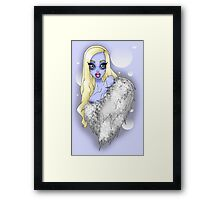Abominable Show-Babe Framed Print
