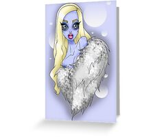 Abominable Show-Babe Greeting Card