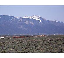 """On the Mesa"" Photographic Print"
