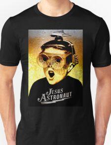 JESUS ASTRONAUT BEER GOGGLES Unisex T-Shirt