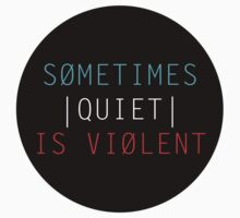 TWENTY ONE PILOTS: SOMETIMES QUIET IS VIOLENT by hslim