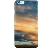Light Storm On The Plains iPhone Case/Skin