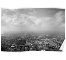 View over Chicago - From Willis Tower Poster