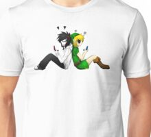 Jeff the Killer and BEN Drowned Unisex T-Shirt