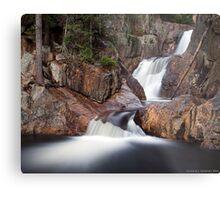 Smalls Falls - Landscape View Metal Print