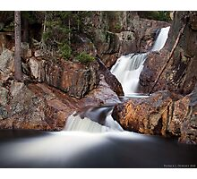 Smalls Falls - Landscape View Photographic Print