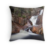 Smalls Falls - Landscape View Throw Pillow