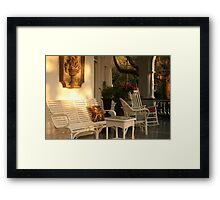 southern comfort Framed Print