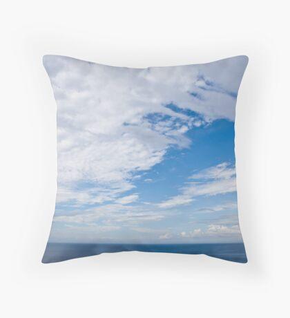 Peace,Riomaggiore,Italy Throw Pillow