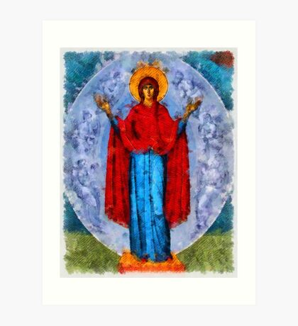 Mary by Pierre Blanchard Art Print