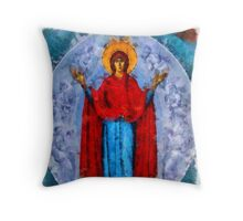 Mary by Pierre Blanchard Throw Pillow