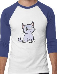 Kitty Men's Baseball ¾ T-Shirt