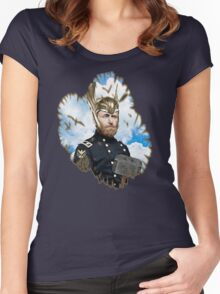 Ulysses S. Grant + Thor Mashup Women's Fitted Scoop T-Shirt