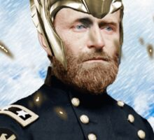 Ulysses S. Grant + Thor Mashup Sticker
