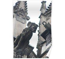 Aachen gargoyle Poster