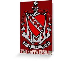 Tau Kappa Epsilon: Coat of Arms Greeting Card