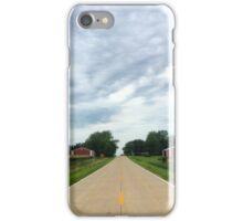 Iowa Country Highway iPhone Case/Skin