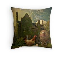 Egg... or solving the main philosophical problem. Throw Pillow