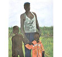 Uganda Family Photographic Print