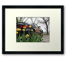 Heavy Metal Meets Nature Framed Print