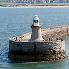 Lighthouse & Pier by DJohnW