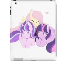 BFFS - My little pony (fluttershy, starlight glimmer & twilight sparkle) iPad Case/Skin