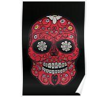 Flores De Los Muertos Poster