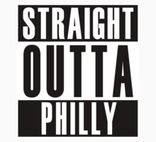 Straight Outta Philly Kids Clothes