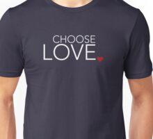 Choose Love - Heart Period Unisex T-Shirt