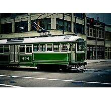 """""""454 Trolley"""" - Memphis, Tennessee Photographic Print"""