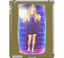 Lindsay in the Flashlights iPad Case/Skin