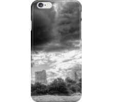 Storm Over The Castle iPhone Case/Skin