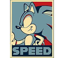Sonic Speed Photographic Print