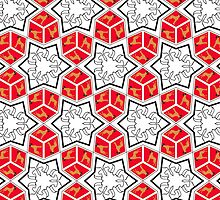 Great Dane pattern I by Doggenhaus