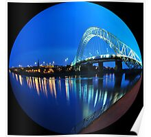 RUNCORN BRIDGE Poster