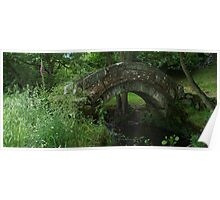 Old Pack-horse Bridge Poster